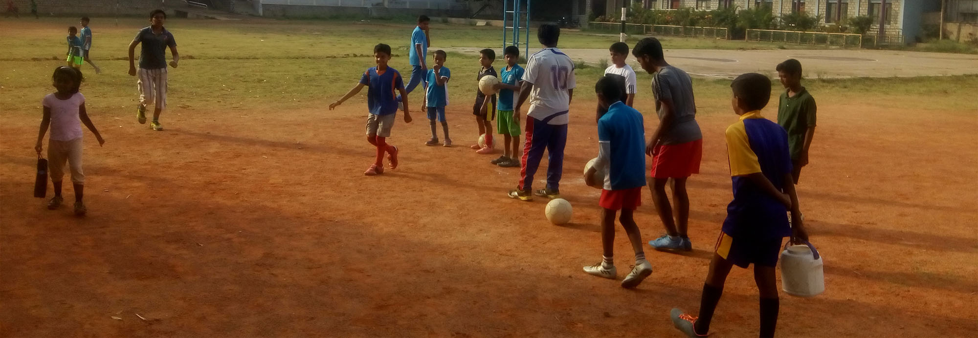 Keeping in mind the importance of holistic development of every child, Christ School organises summer  camp every year