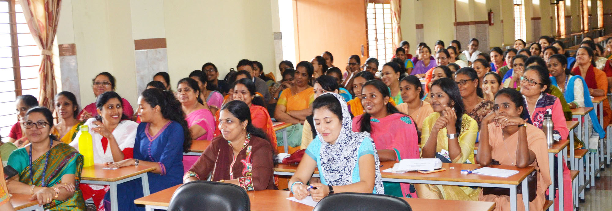 The faculty orientation programme for the academic year 2017-18 was held in Chavara Auditorium
