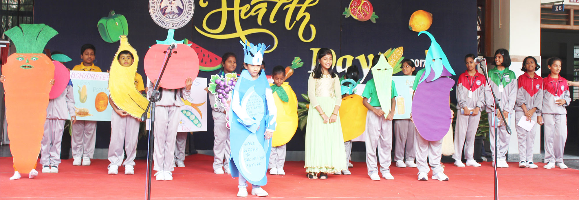 Health is not a goal; it is actually a way of living. To spread this message among the Christites, 5 August was celebrated as Health Day in our school.